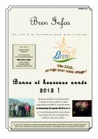 Bulletin municipal – Janvier 2015