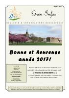 Bulletin municipal – Janvier 2017