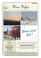 Bulletin municipal –  JANVIER 2019