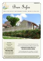 Bulletin municipal – Janvier 2021